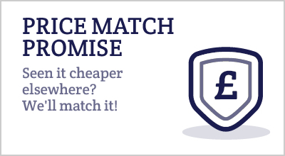 PRICE MATCH PROMISE Seen it cheaper elsewhere? We'll match it!