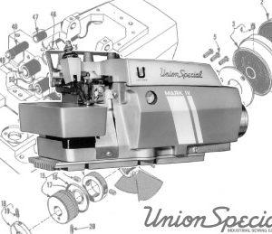 Union Special 39500 Parts