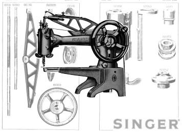 Singer 29K, 29U Parts