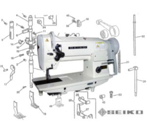 Seiko LSW-6BL, 7BL, 8BL,CS Parts
