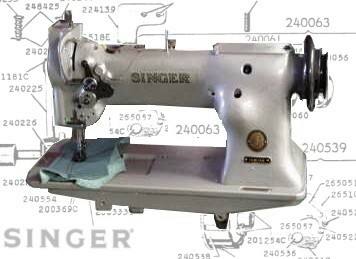 Singer 111G, 111W Parts