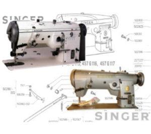 Singer 457G, 457U Parts