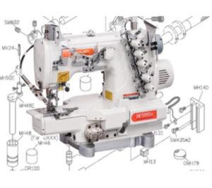 Siruba F007,C007 Parts