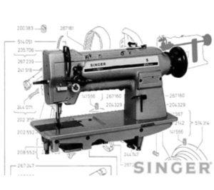 Singer 211G, 211U, 211W Parts