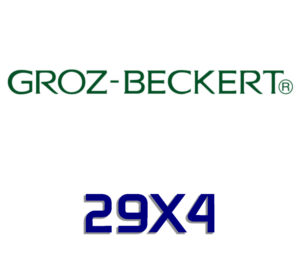 29X4 GROZ BECKERT NEEDLES