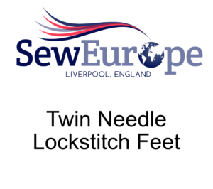 Twin Needle Lockstitch Feet