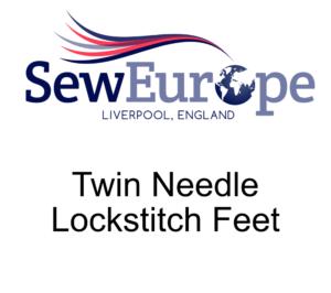 Twin Needle Lockstitch Feet