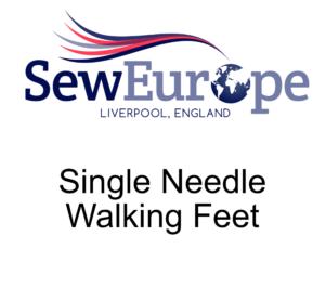Single Needle Walking Feet