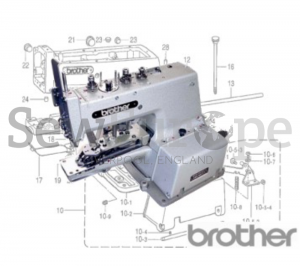 Brother CB3- B912, B913, B916 & B917 Parts