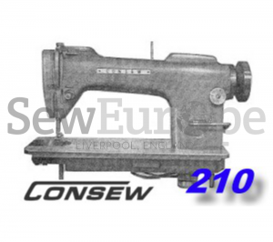 Consew 210 & 210B Parts