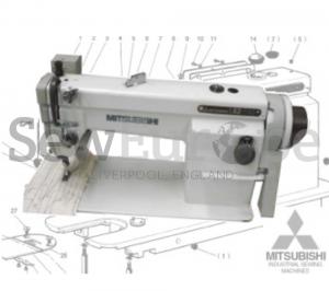 Mitsubishi LS2-150, LS2-180 & LS2-190 Parts