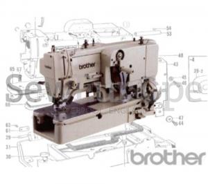 Brother LH4-B814 & LH4-B817 Parts