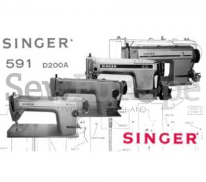 Singer 191,291,491,591