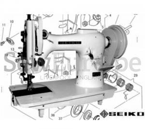 Seiko SK-2B, SK-6, SK-6F