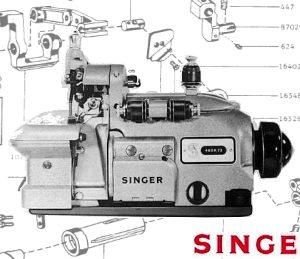 Singer 246, 460 Parts